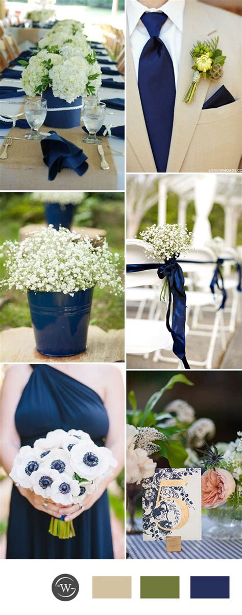 blue wedding colors stunning navy blue wedding color combo ideas for 2017