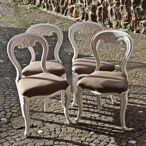 sedie shabby chic oltre 25 fantastiche idee su sedie shabby chic su