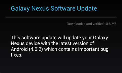 galaxy nexus where is the serial number android forums galaxy nexus gets ics android 4 0 2 update