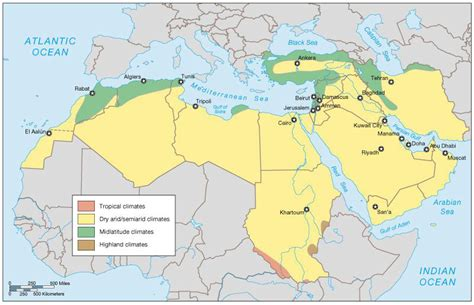 middle east climate zone map maps middle east and middle on