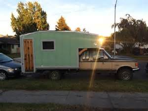 This cozy homemade truck camper is perfect for winter camping