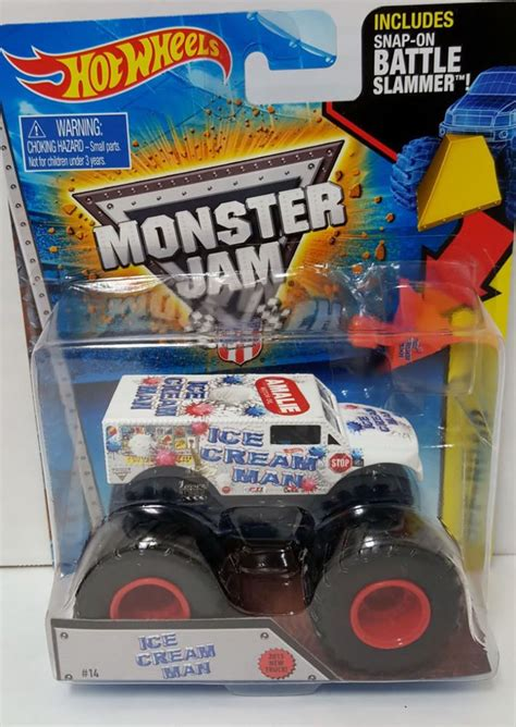 monster jam monster trucks toys wheels monster jam truck battle slammer new ice cream