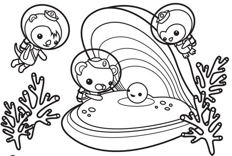 coloring page the octonauts 2
