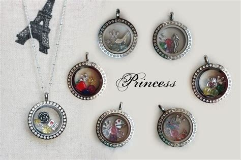 Disney Origami Owl Charms - disney princess inspired origami owl lockets shop