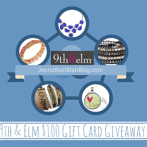 Gift Card Giveaway - monicas rants raves and reviews 100 9th elm gift card giveaway ends 2 22