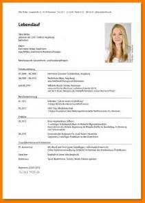 Tabellarischer Lebenslauf Berufskolleg Muster Lebenslauf Foto Templated
