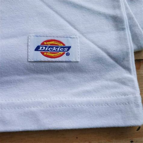 Kaos Porsche Logo White jual kaos dickies seri heavy cotton pocket it white