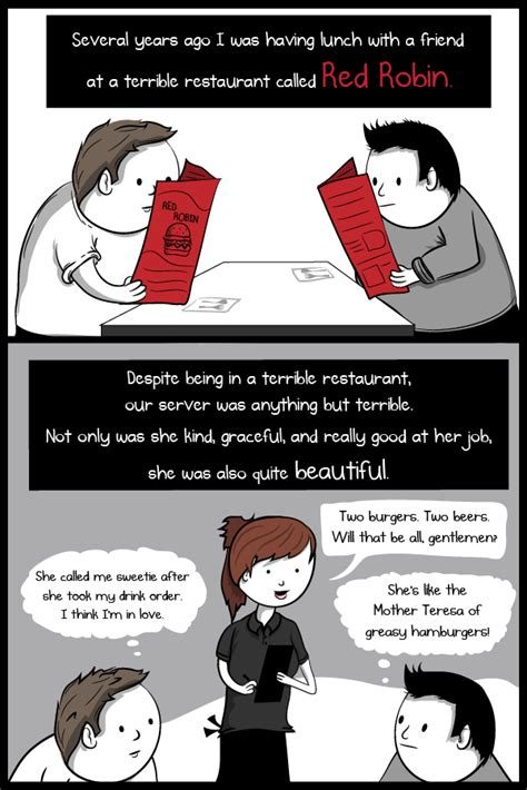 Tip The Table by Tipping And Tooting A Comic About Who Wait Tables