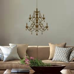 chandelier vinyl wall decal fancy chandelier vinyl wall decals
