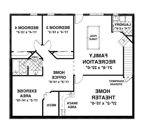 hennessey house 7805 4 bedrooms and 4 baths the house designers house plan with photos