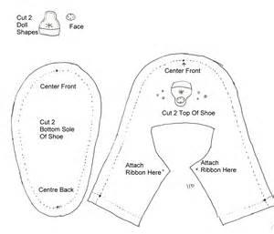 tutorial membuat sepatu bayi dari kain flanel belajar