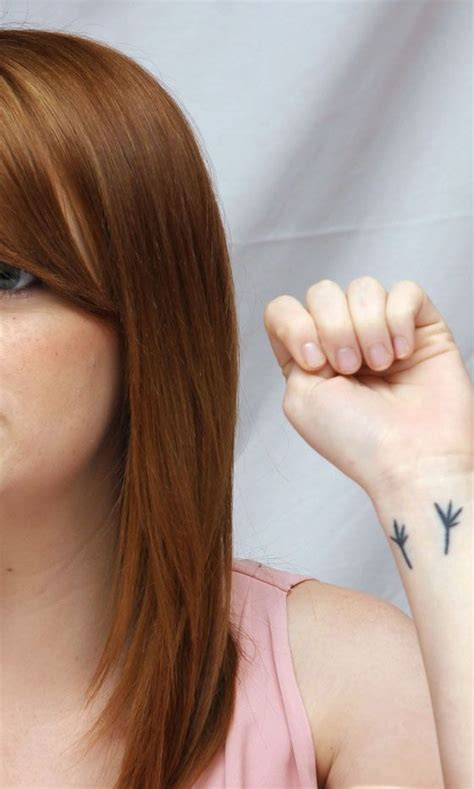 emma stone tattoo best 25 ideas on