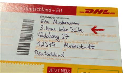 Adressaufkleber Paket International by Erste Hilfe Bei Paket Problemen
