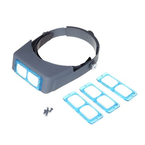 New Lens Mounted Headband Reading Magnifier Wearing lens mounted headband reading magnifier loupe