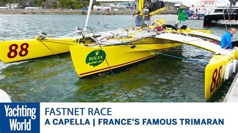 trimaran acapella a capella france s famous trimaran yachting world