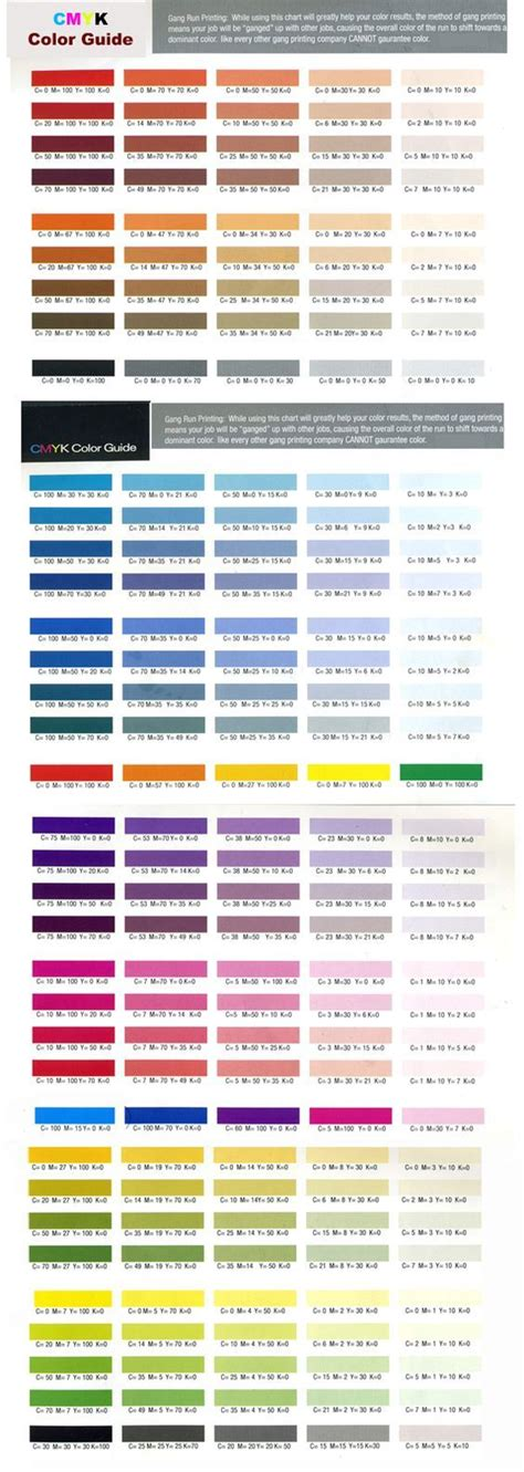 cmyk color chart best 25 cmyk color chart ideas on color