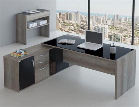 mesas para escritorio mesa para escrit 243 vidro e arm 225 acoplado pre 231 o