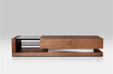 modern tv stands modrest mali modern walnut tv stand