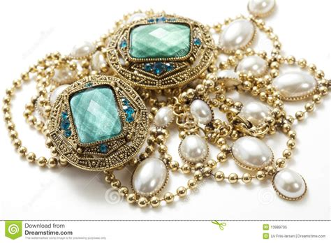 vintage jewelry royalty free stock photo image 13989705