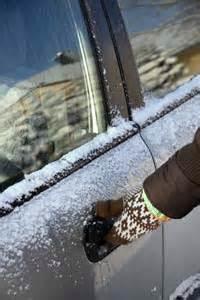 Frozen Car Door by Unsticking A Frozen Car Door Master Muffler