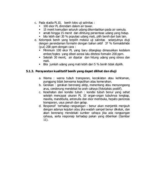 Udang Windu Bebas Formalin 500gr juknis penerapan best management practices bmp
