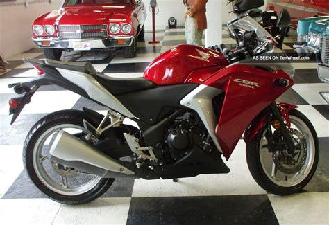 Honda Cbr250r 2012 Mod 2012 honda cbr250r