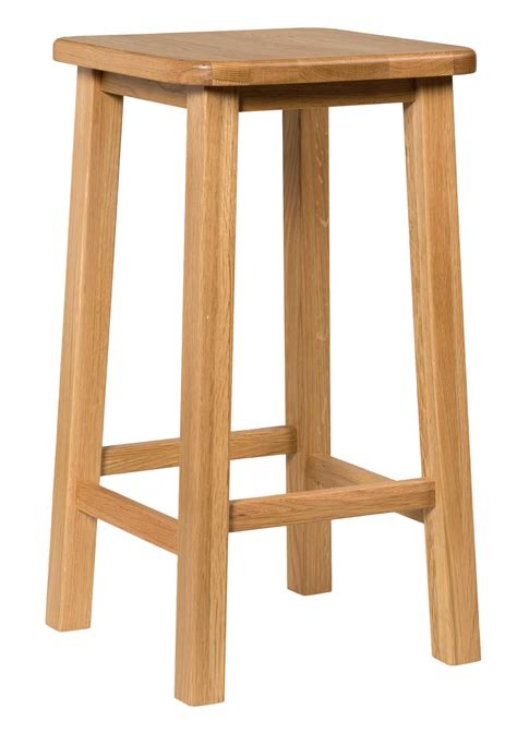 Wooden Breakfast Bar Stool Oak Kitchen Breakfast Bar Stools Solid Wood Stool Dining Seat Ebay