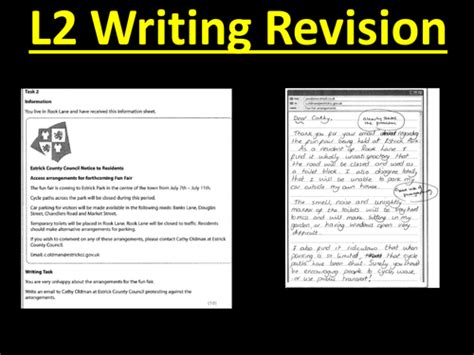 layout of a letter functional skills functional skills writing revision level 2 by stevenoyce1