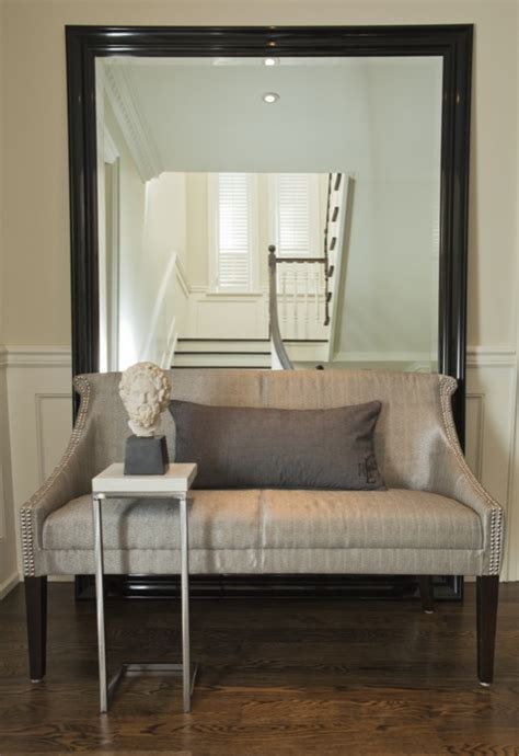 foyer settee gray settee contemporary entrance foyer jennifer