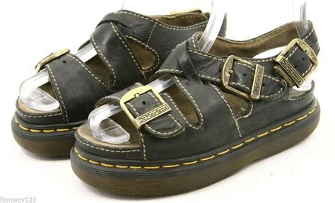 doc marten fisherman sandals dr martens doc womens sandals size 5 black leather