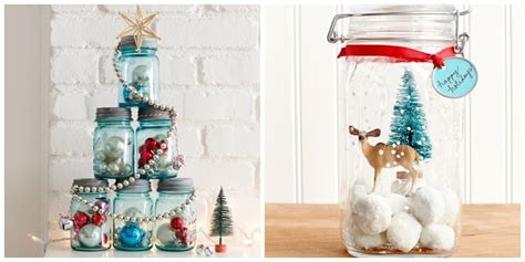 mason jar christmas crafts fun diy holiday craft projects