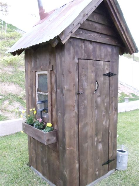 backyard outhouse outhouse shed design woodworking projects plans