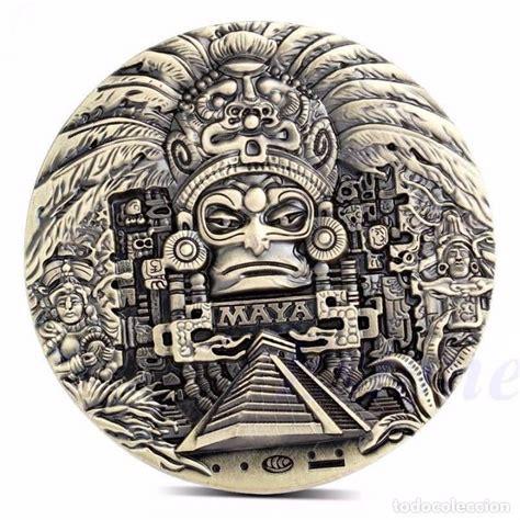 imagenes de monedas mayas moneda medalla de calendario maya azteca conm comprar