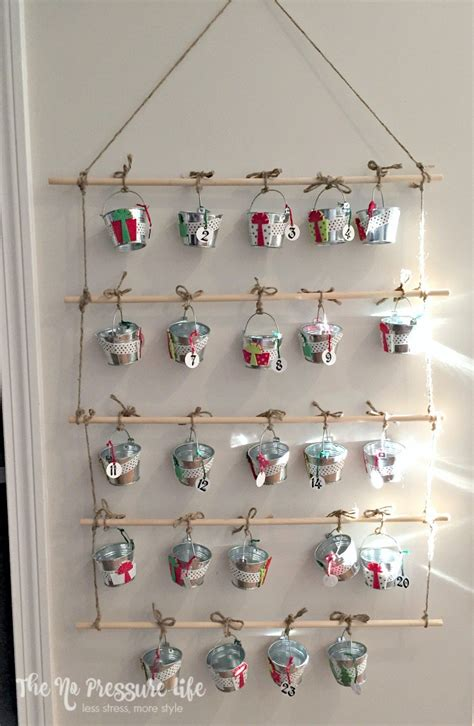 Inexpensive Advent Calendar Gifts How To Make A Diy Advent Calendar Your Will