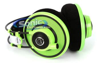 Akg Q701 Quincy Jones Green Edition Headphone akg q701 premium quincy jones signature reference headphones q 701 green