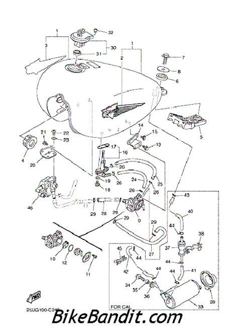 yamaha virago 250 wiring diagram 2009 yamaha fz8 wiring