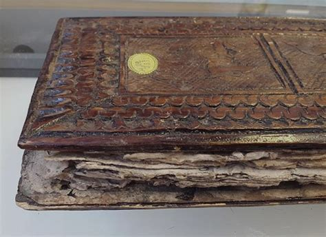 the conservation and spectroscopic analysis of a burmese concertina binding collection care blog