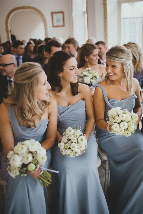 Wedding: Dusty Blue and Gray Wedding Inspiration   Cool