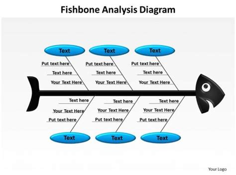 fishbone analysis diagram powerpoint diagram templates