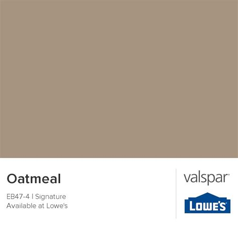 oatmeal from valspar decor