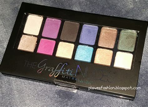 Maybelline Palette and more by pilar maybelline the graffiti