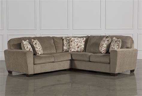 patola park sectional patola park 3 piece sectional living spaces