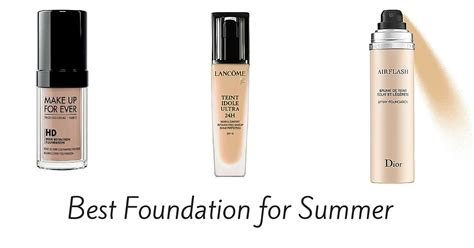 Best Light Foundation by Best Foundation For Summer Of 2017 Product Reviews