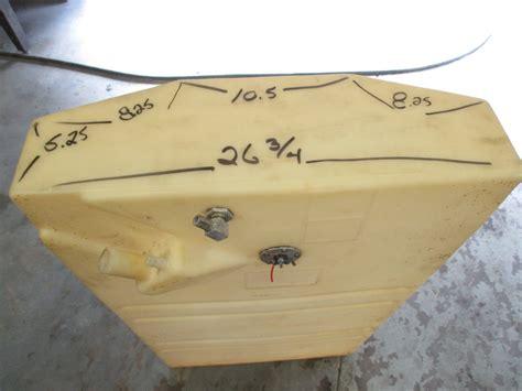 plastic tanks for boats plastic boat gas tank tapered 48 x 26 75 x 8 5 ebay