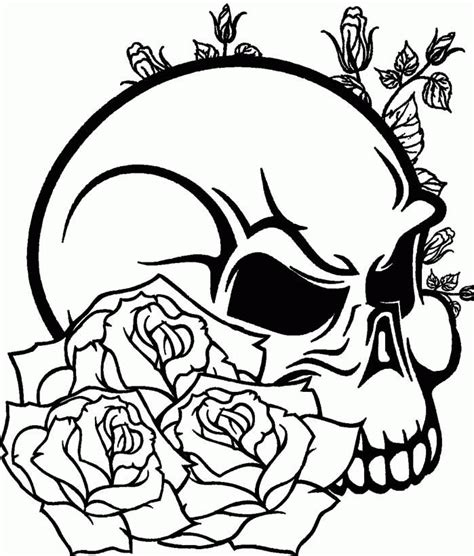 skull coloring pages for adults skull coloring pages for adults coloring home