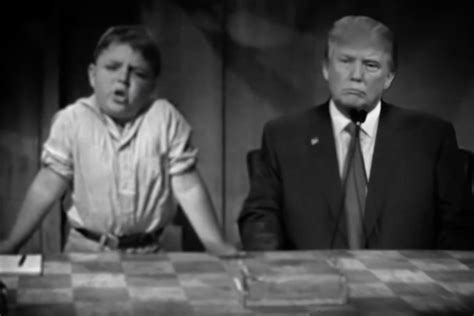 Donald Trump Little Rascals | someone put donald trump in a little rascals short