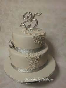 25th anniversary cake cakesdecor wedding pinterest