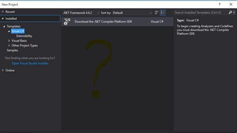 C No Templates In Visual Studio 2017 Stack Overflow Visual Studio 2017 Website Templates