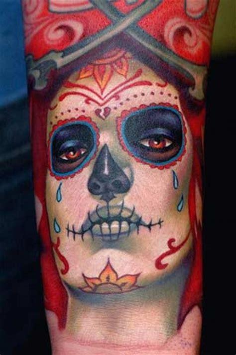 santa muerte tattoo images santa muerte a tattooimages biz
