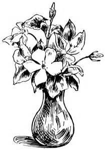 vase of flowers clipart etc
